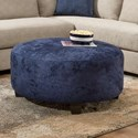 American Furniture 1280 Accent Ottoman - Item Number: 1285-7625
