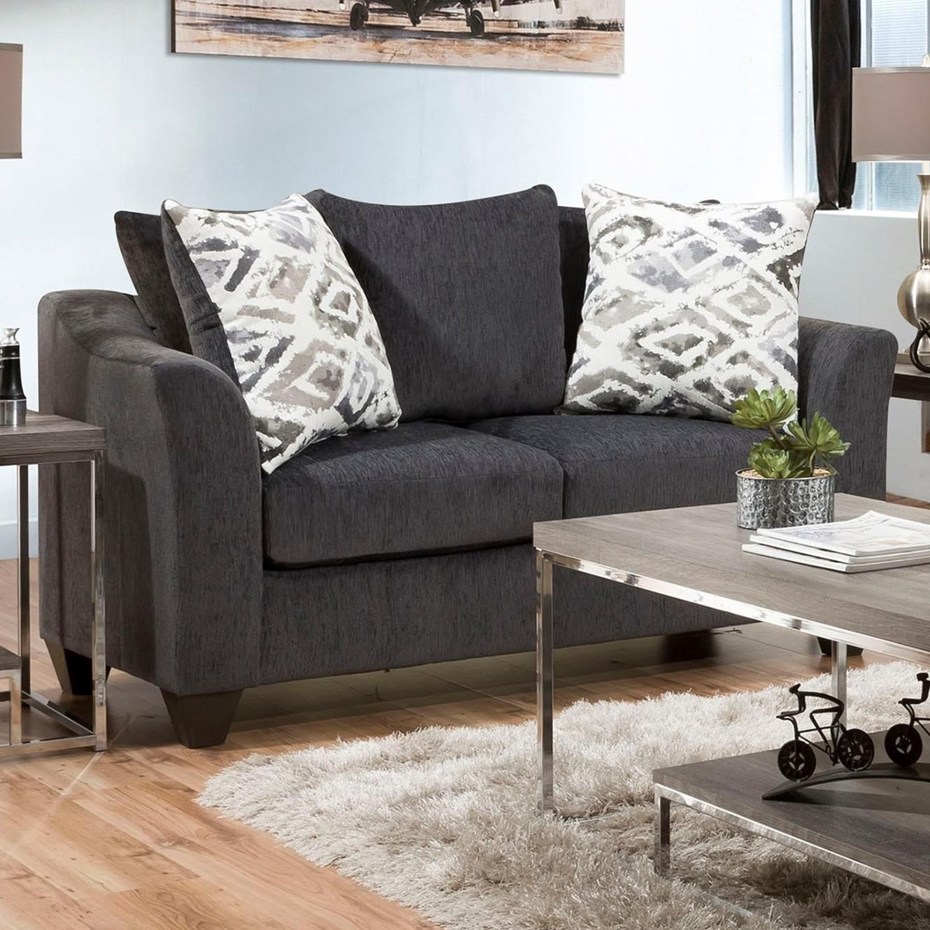 1370 Loveseat by Peak Living at Prime Brothers Furniture