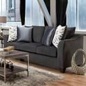 American Furniture 1370 Sofa - Item Number: 1373-6364