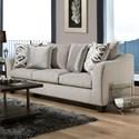 American Furniture 1380 Sofa - Item Number: 1383-6365