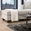 American Furniture 1380 Ottoman - Item Number: 1385-6365