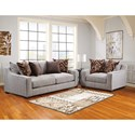 American Furniture 1400 Chair and a Half with Contemporary Style