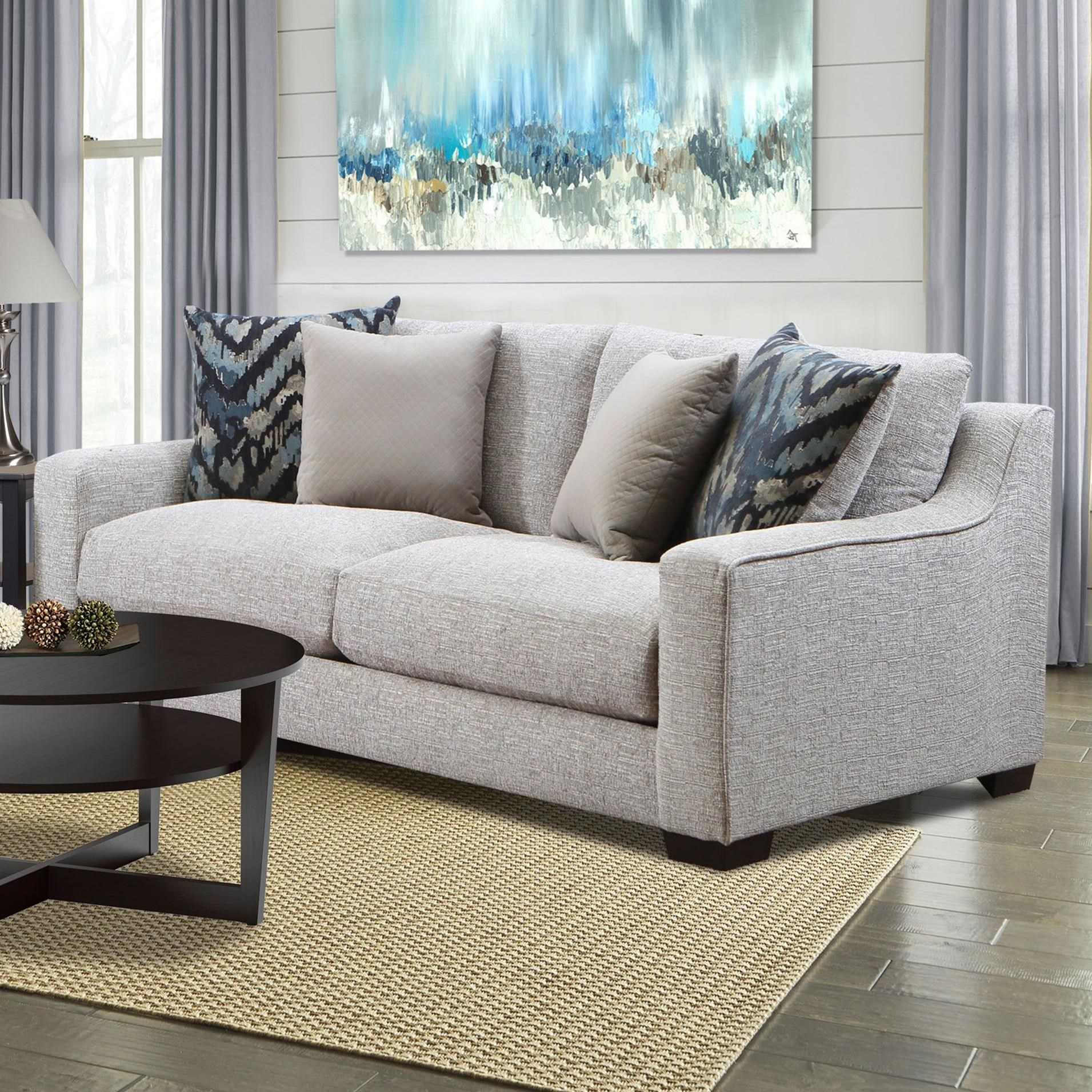 American Furniture 1400 Sofa - Item Number: 1403-2005