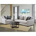 American Furniture 1400 Sofa with Contemporary Style