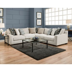 American Furniture 1400 Sectional Sofa