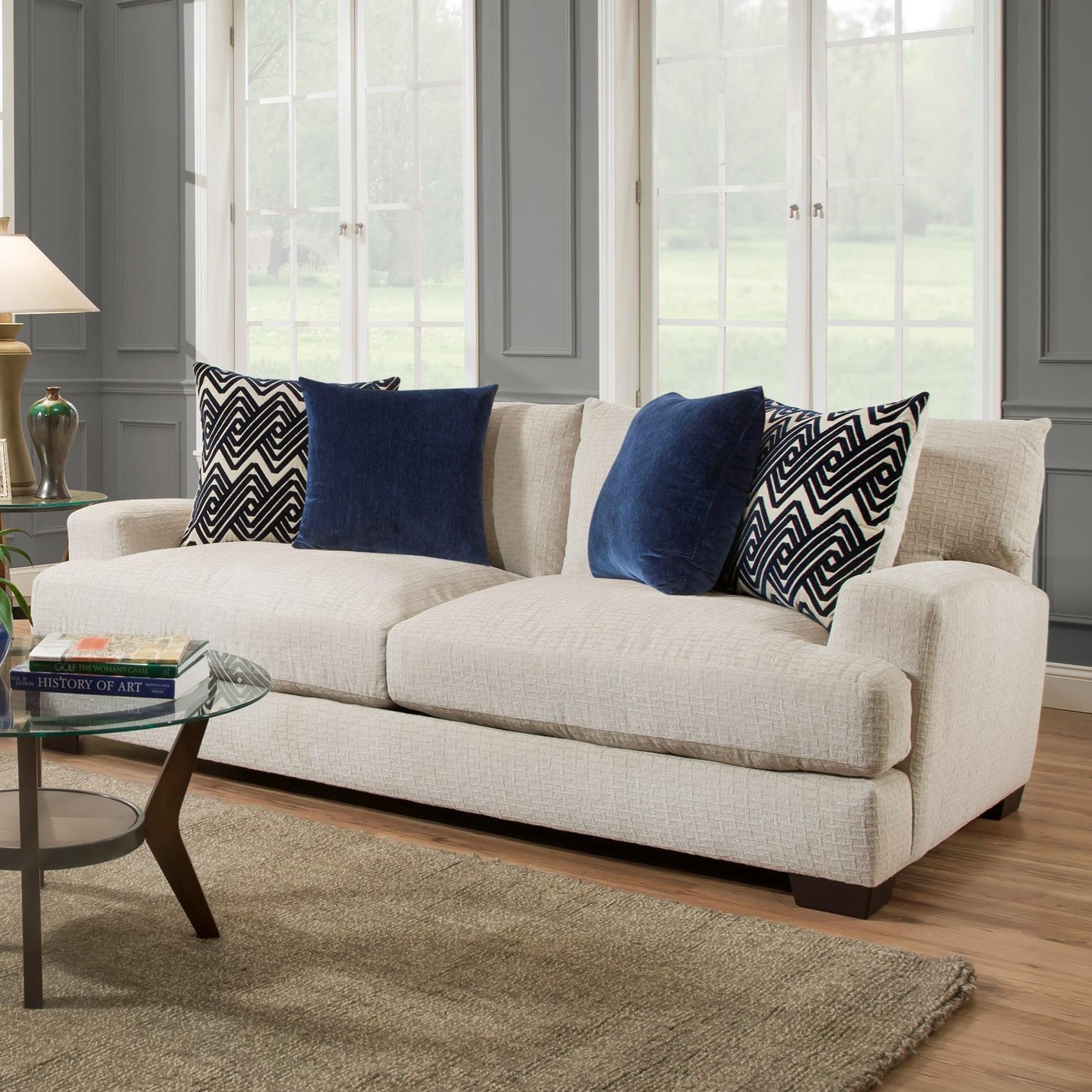 American Furniture 1600 Sofa - Item Number: 1603-5440