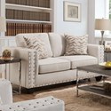 American Furniture 1700 Contemporary Loveseat - Item Number: 1702-2020