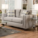American Furniture 1700 Contemporary Loveseat - Item Number: 1702-2210