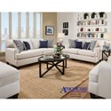 American Furniture 1950 Casual Styled Loveseat