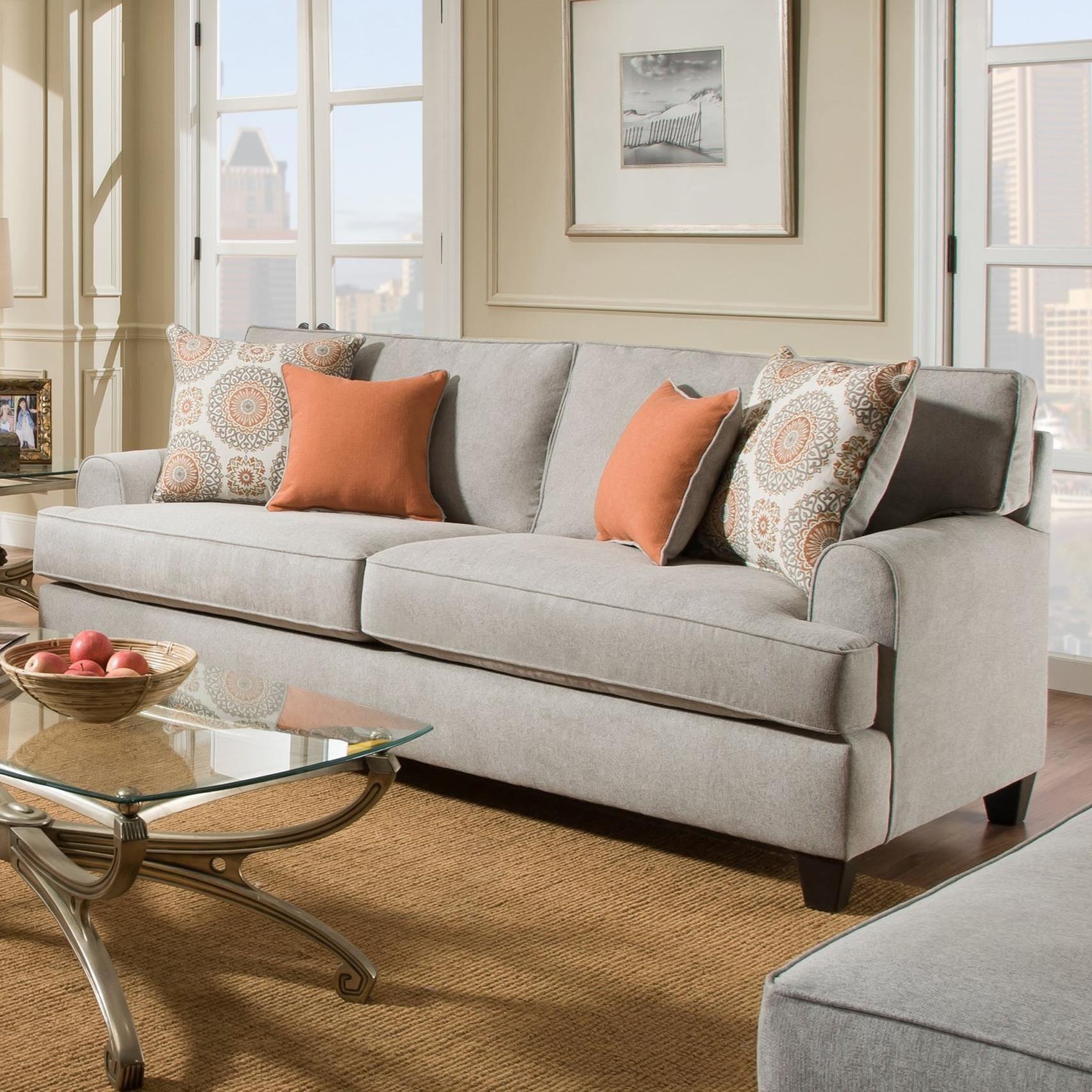 American Furniture 1950 Sofa - Item Number: 1953-2021