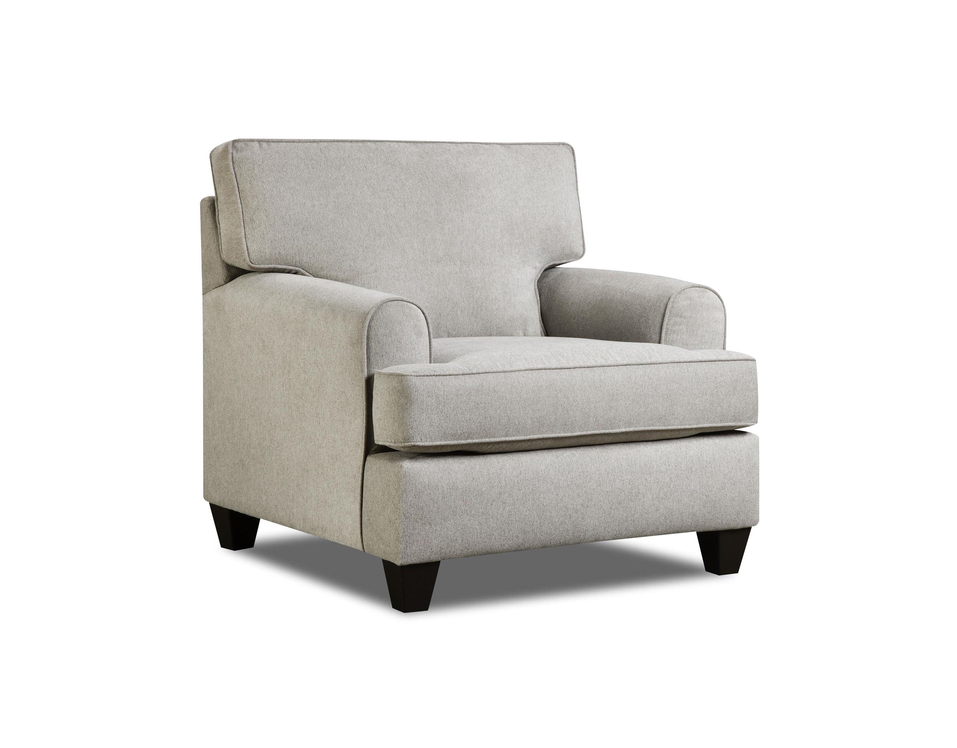 American Furniture 1950Dove Popstitch Chair - Item Number: 1951Dove