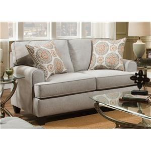 American Furniture Popsch Dove Loveseat
