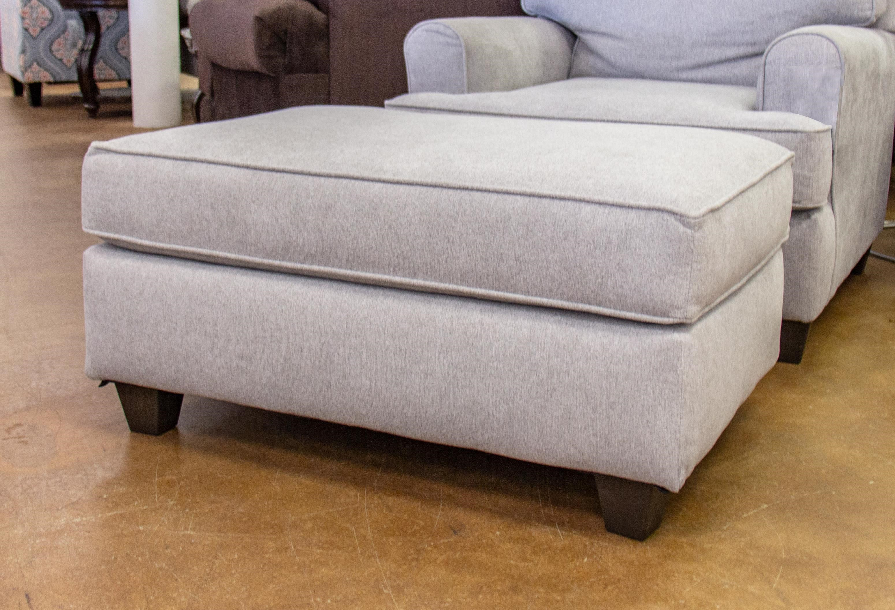 American Furniture Popstitch Dove Ottoman - Item Number: 1955-2021