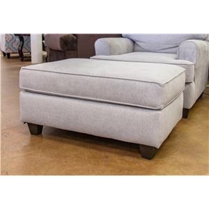 American Furniture Popstitch Dove Ottoman