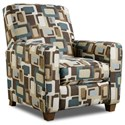 American Furniture 2460 Recliner - Item Number: 2460-3040