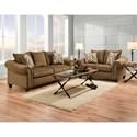 American Furniture 2700 Stationary Living Room Group - Item Number: 2700-1820-Living-Room-Group