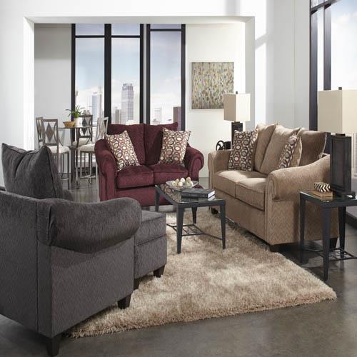 American Furniture 2700 Sofa - Item Number: 2703 5931