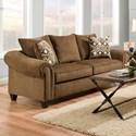 American Furniture 2700 Sofa - Item Number: 2703-1820