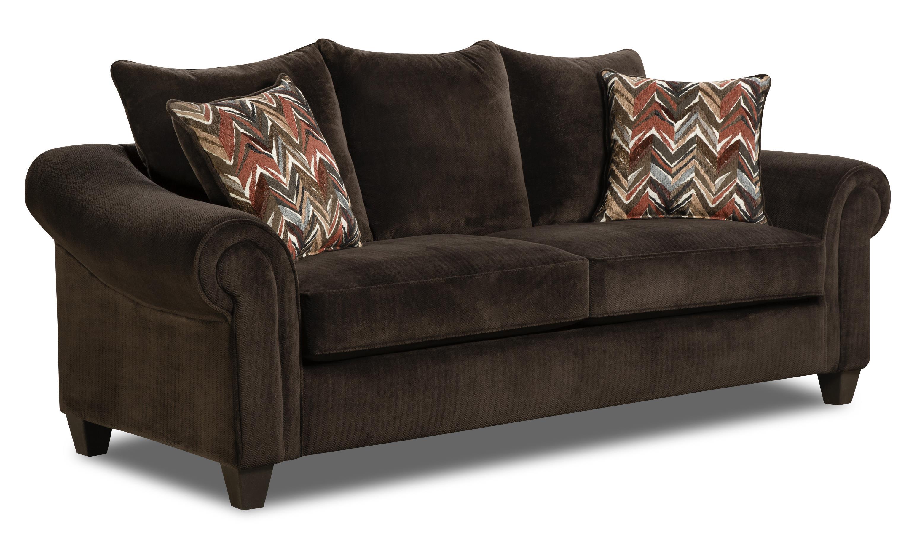 American Furniture 2800 Sofa - Item Number: 2803-2450