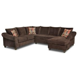American Furniture 2800 Sectional Sofa