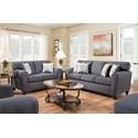American Furniture 3100 Living Room Group - Item Number: 3100-2761-Living-Room-Group