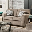 American Furniture 3100 Loveseat with Casual Style - Item Number: 3102-1664