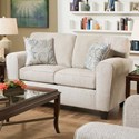 American Furniture 3100 Loveseat with Casual Style - Item Number: 3102-2760