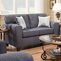 American Furniture 3100 Loveseat with Casual Style - Item Number: 3102-2761