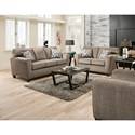 American Furniture 3100 Living Room Group - Item Number: 3103-1664