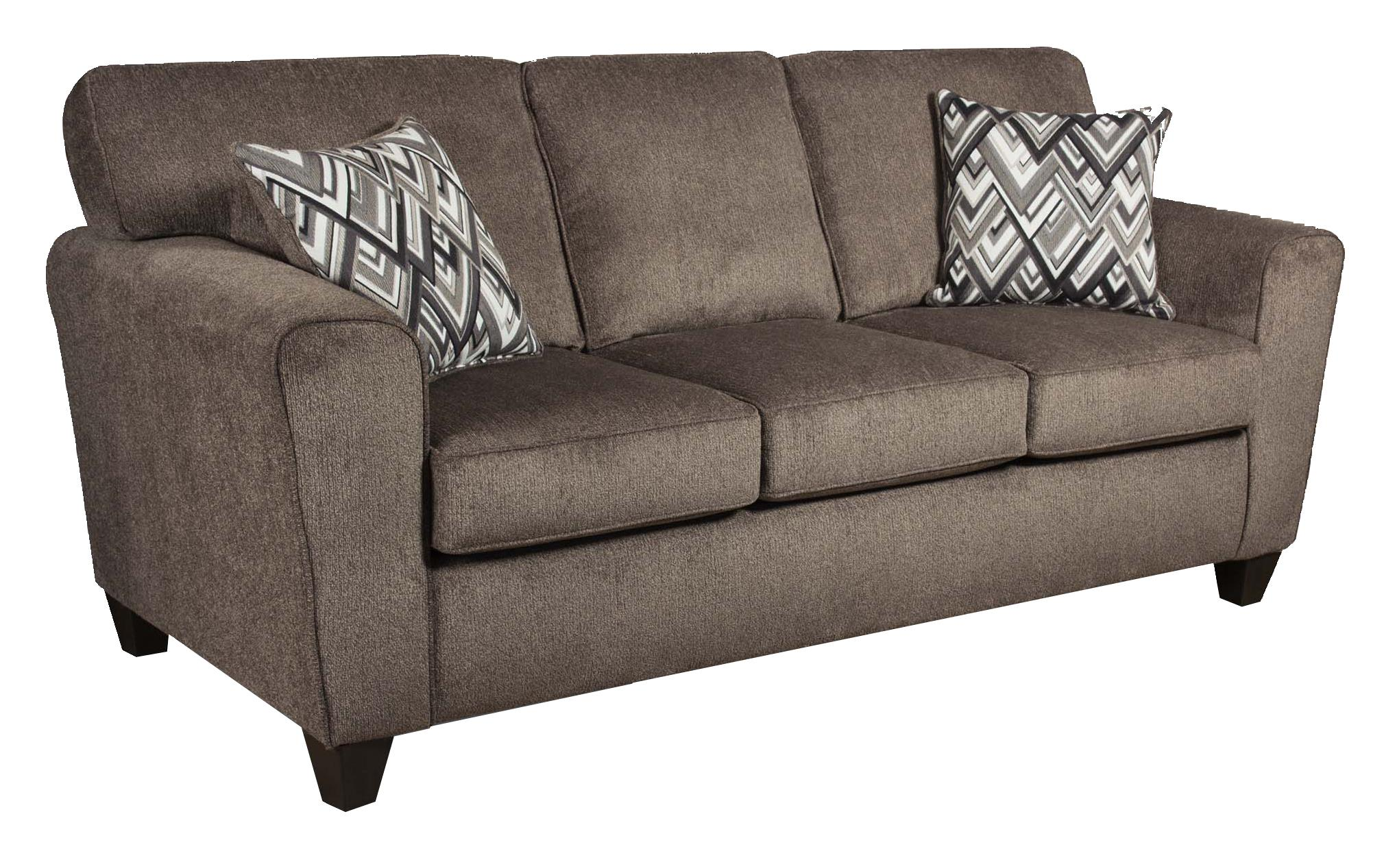 American Furniture 3100 Sofa - Item Number: 3103-Cornell-Pewter