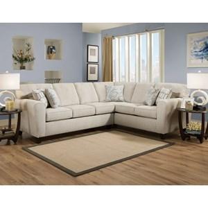 American Furniture 3100 Sectional Sofa