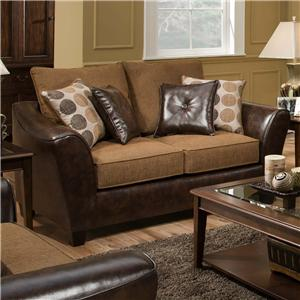 American Furniture 3200 Group Loveseat