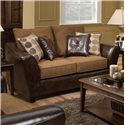 American Furniture 3200 Group Loveseat - Item Number: 3202 4820
