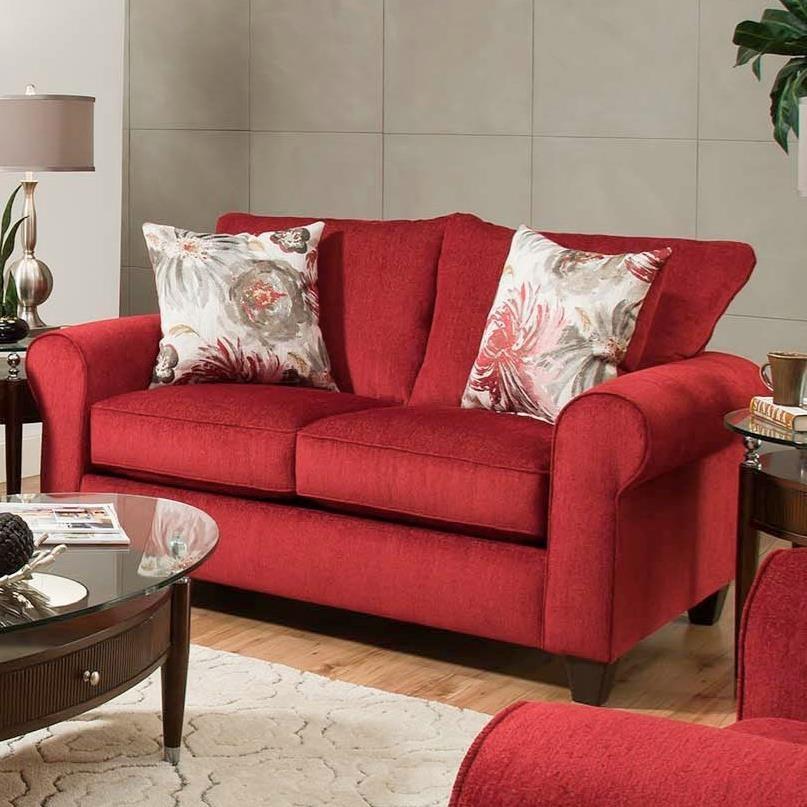American Furniture 3300 Loveseat - Item Number: 3302-6390