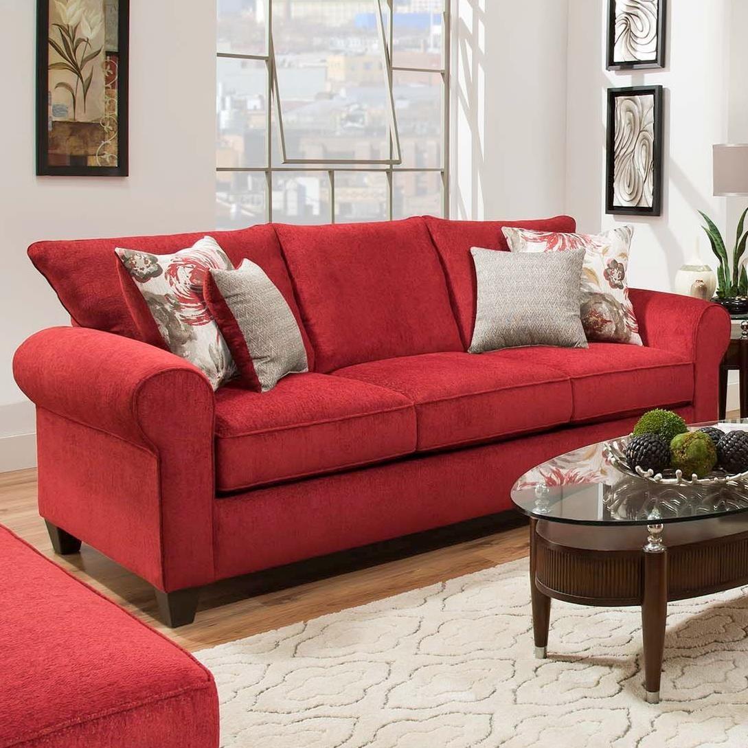 American Furniture 3300 Sofa - Item Number: 3303-6390