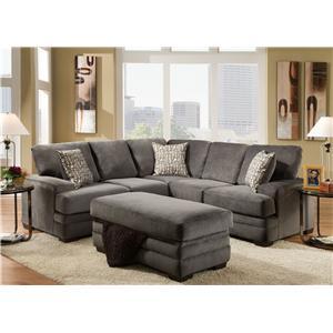 American Furniture 3500  Sectional Sofa