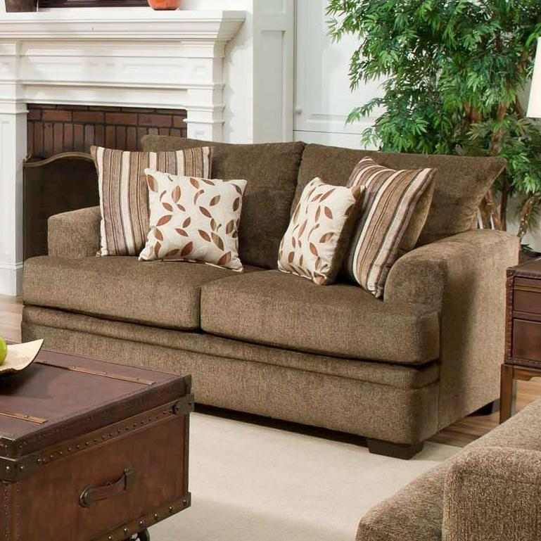 American Furniture 3650 Loveseat - Item Number: 3652-1661