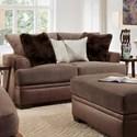 American Furniture 3650 Loveseat - Item Number: 3652-1743