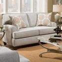 American Furniture 3650 Loveseat - Item Number: 3652-2021