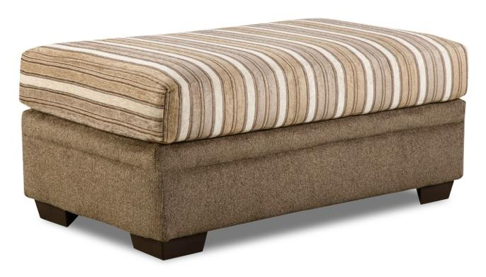 3650 Storage Ottoman by Peak Living at Prime Brothers Furniture