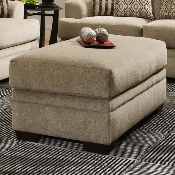 3650 Storage Ottoman by Vendor 610 at Becker Furniture
