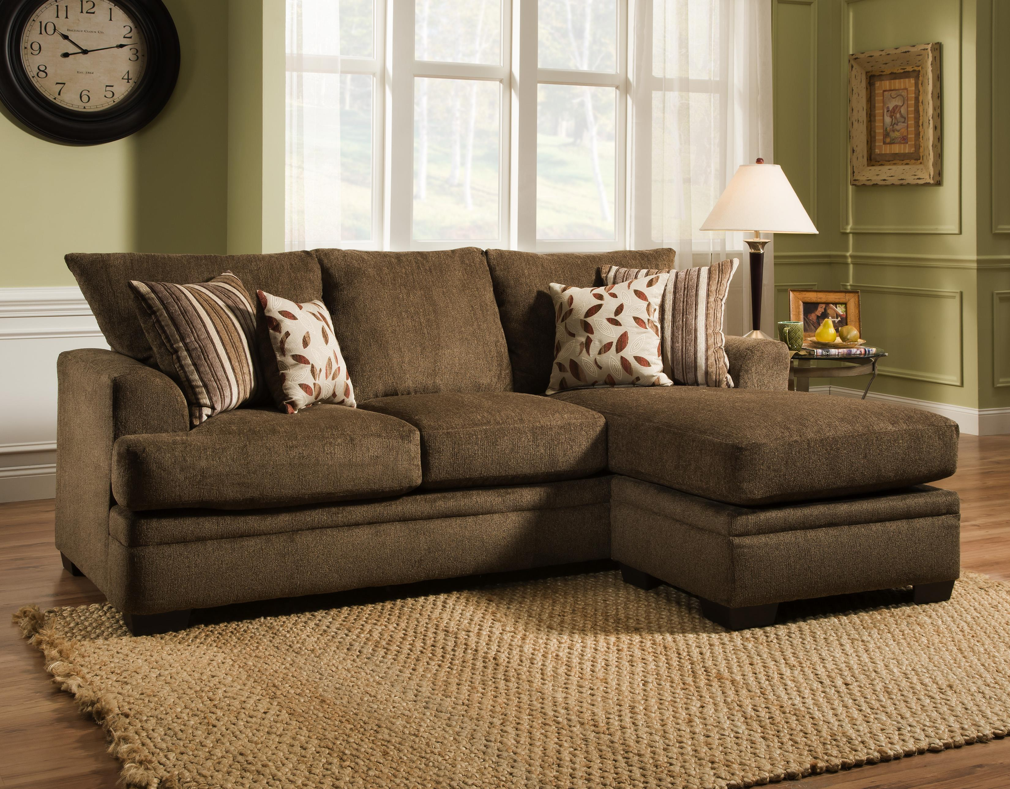American Furniture 3650 Sofa Chaise - Item Number: 3657-1661