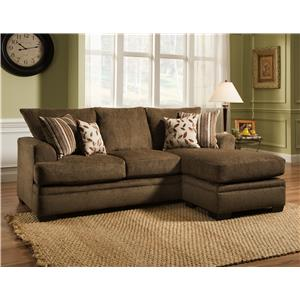 American Furniture 3650 Sofa Chaise