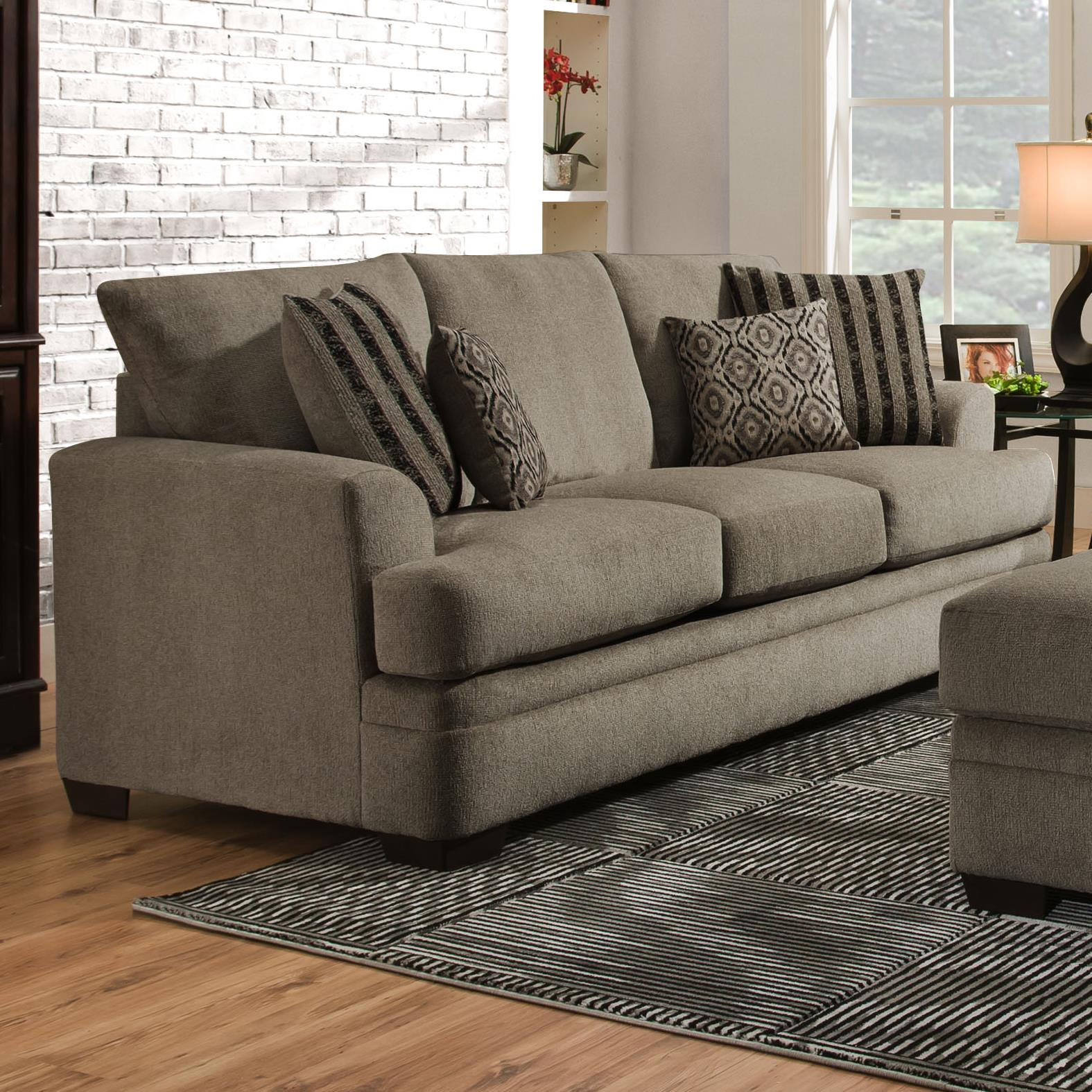 American Furniture 3650 Queen Sofa Sleeper   Item Number: 3658 1664