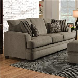 American Furniture 3650 Queen Sofa Sleeper