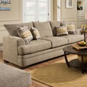 American Furniture 3650 Queen Sofa Sleeper - Item Number: 3658-4213