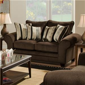 American Furniture 3700 Upholstered Love Seat