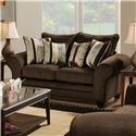 American Furniture 3700 Upholstered Love Seat - Item Number: 3702 G