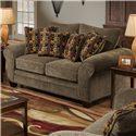 American Furniture 3700 Upholstered Love Seat - Item Number: 3702 M