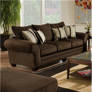 Vendor 610 3700 Upholstered Stationary Sofa